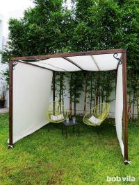 DIY Outdoor Privacy Screen and Shade - Tutorial - Bob Vila