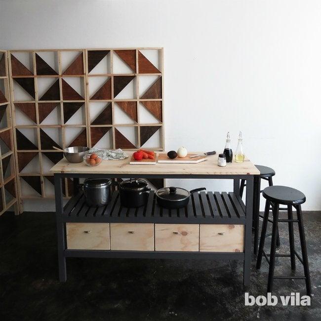 How to Build a Kitchen Island  Bob Vila