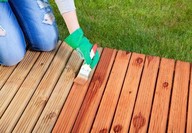Homemade Green Wood Sealer
