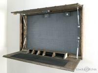 Genius! DIY Gun Cabinet