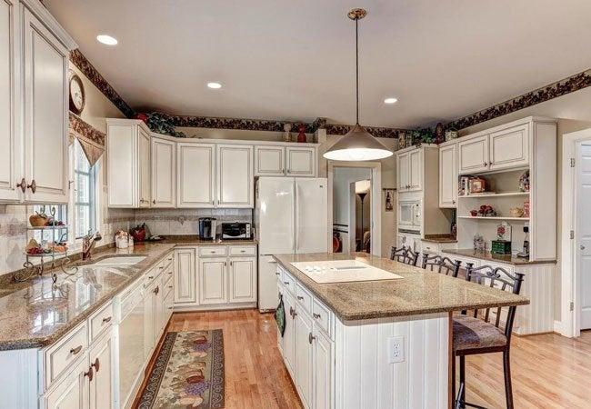 glazed kitchen cabinets islands portable how to glaze bob vila