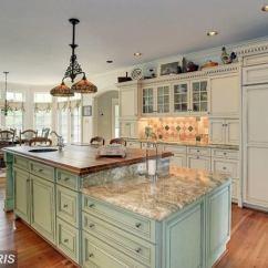Glazed Kitchen Cabinets Portable Island Target How To Glaze Bob Vila