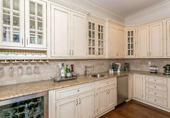 white kitchen cabinets deco how to glaze bob vila