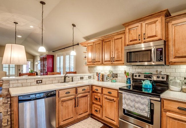 kitchen renovation cost sets how to glaze cabinets - bob vila
