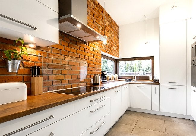 brick backsplash in kitchen door handles 5 things to know before installing one bob vila a