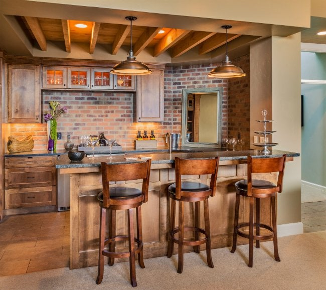 brick backsplash in kitchen concrete island 5 things to know before installing one bob vila a
