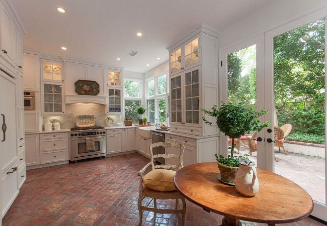 brick floor kitchen apron sinks floors when where and why to have them at home bob vila you should consider in your entryway