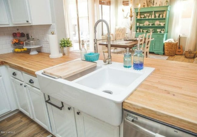 kitchen block cabinets tucson butcher countertops pros and cons bob vila