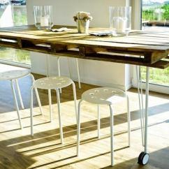 Diy Kitchen Tables Cute Chalkboard Sayings Table Bob Vila Pallet