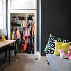 Living Room Closet Ideas Coffee Table For Small 21 Clever Tips And Tricks Bob Vila Track Shelving