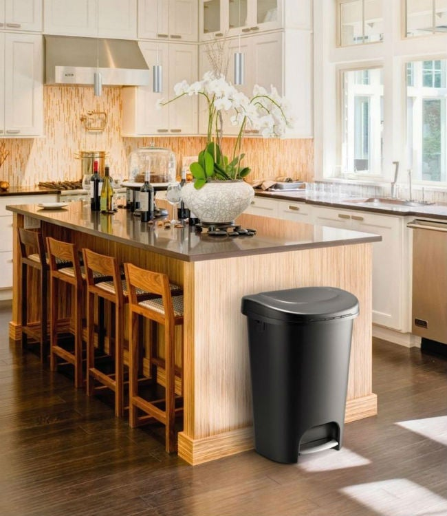 kitchen trash dining set best cans for every budget bob vila the can style and size of