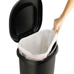 13 Gallon Kitchen Trash Can Best Rated Appliances Cans For Every Budget Bob Vila The Rubbermaid Step On