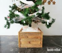 Make a DIY Christmas Tree Stand with This Easy Tutorial ...