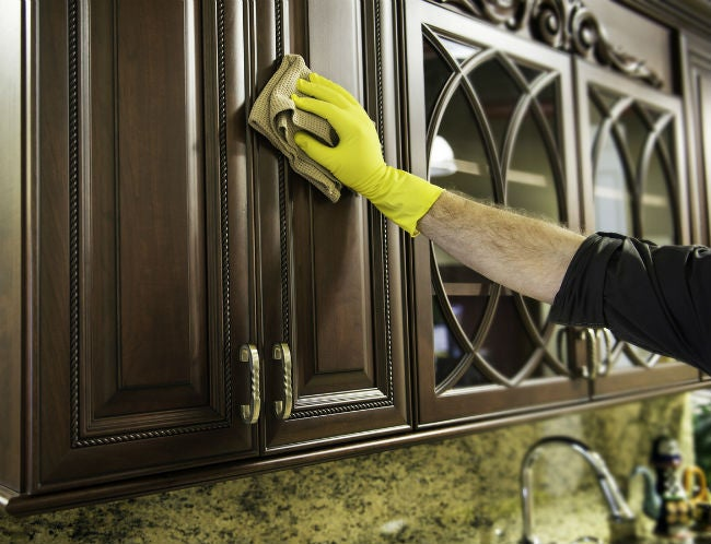 best way to remove grease from kitchen cabinets corner tables 3 methods for how bob vila