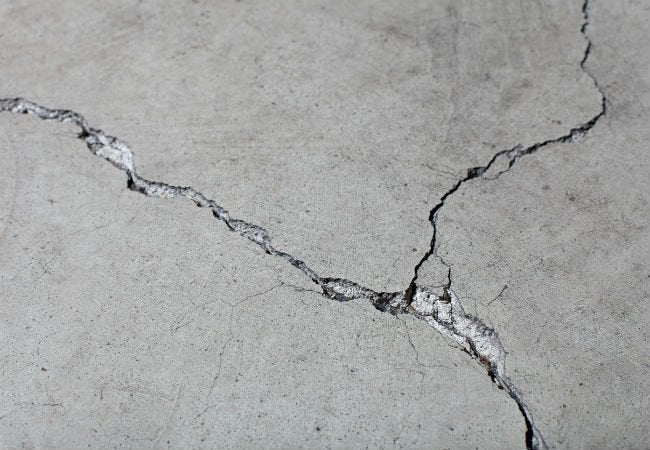 How To Fill Hairline Cracks In Concrete