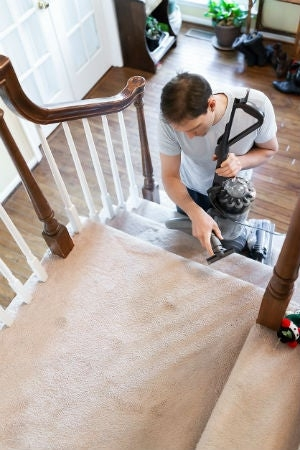 The Best Carpet For Stairs Solved Keep This In Mind While   Felt Back Carpet On Stairs   Stair Treads   Loop Feltback   Rolls Flecked   Purple   Flooring