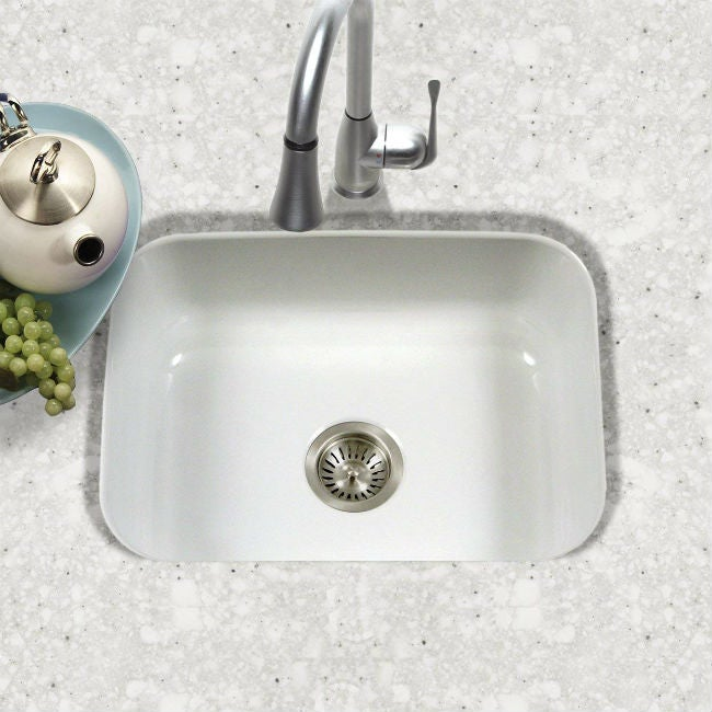 kitchen sink materials gray table and chairs the 7 best for your renovation bob vila
