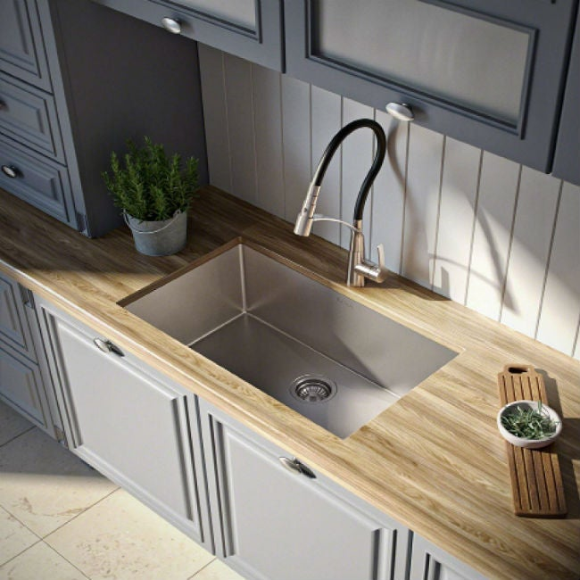 kitchen sink amazon corner booth the 7 best materials for your renovation bob vila