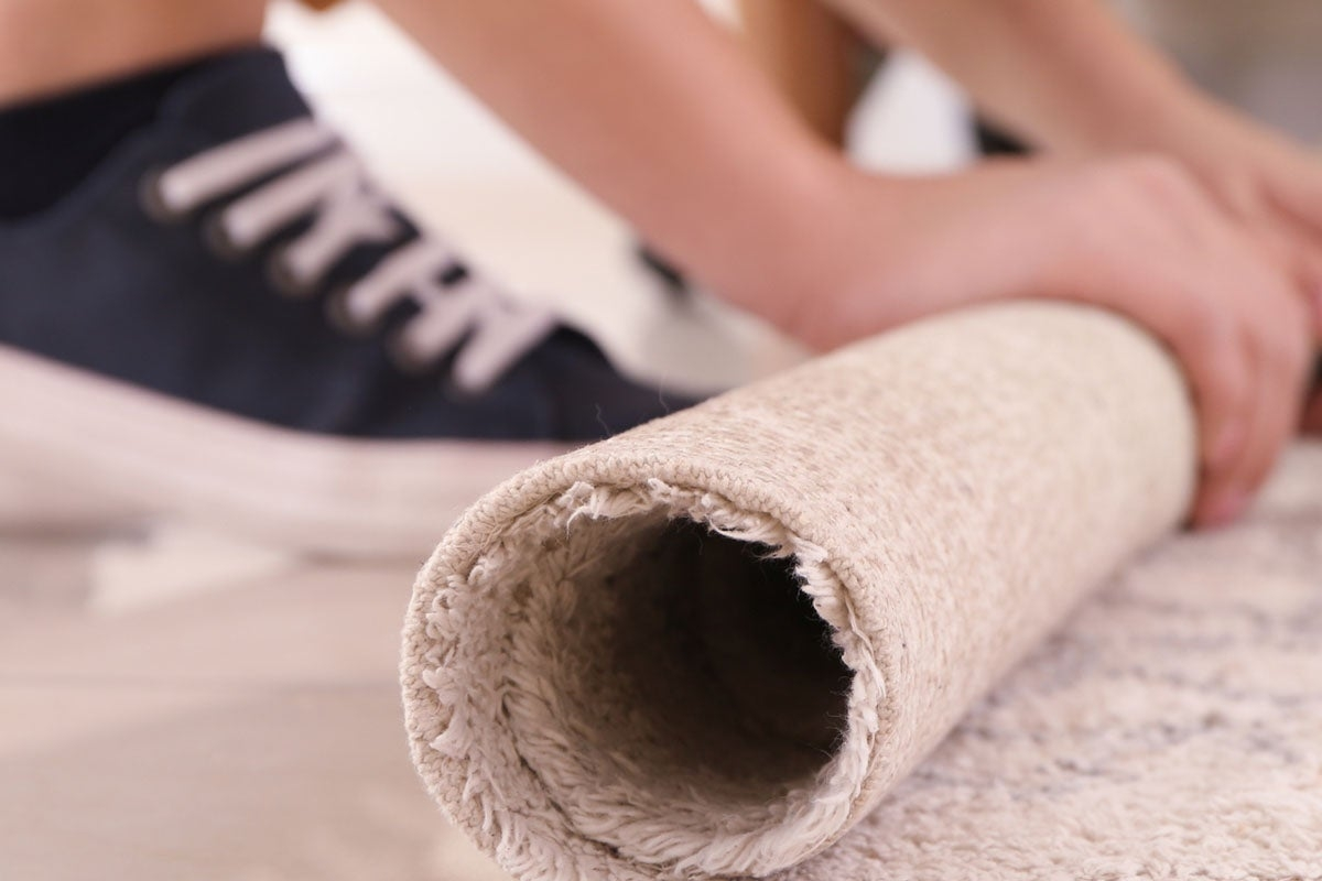 Removing Carpet From Stairs Read This First Bob Vila | Loose Carpet On Stairs | Runner | Fixing | Stair Treads | Stair Nosing | Laminate Flooring