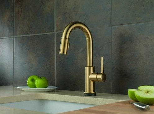 oil rubbed bronze pull down kitchen faucet double sink the new age for fixtures - bob's blogs