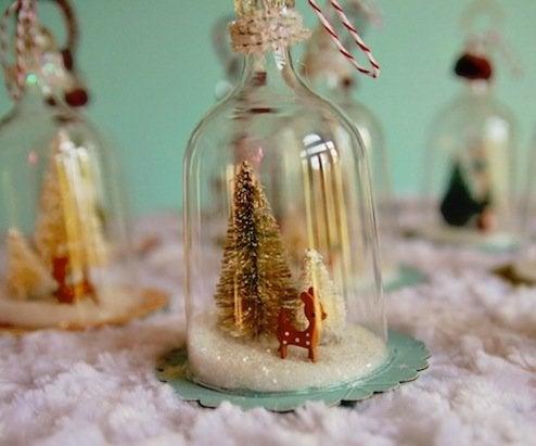 Diy Christmas Glass Ornaments