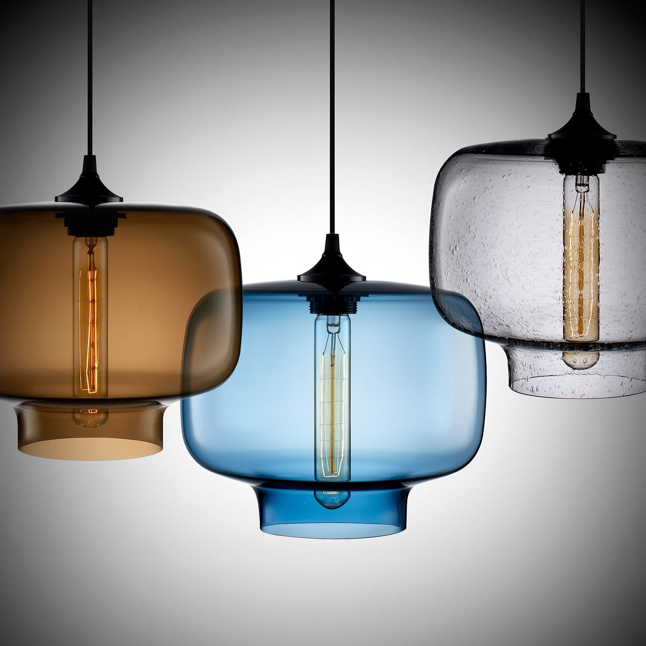 replacing track lighting with pendant lights