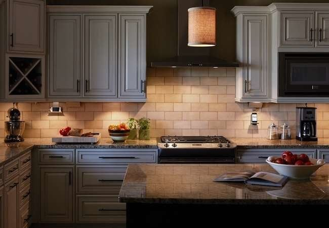 led tape kitchen islands with granite top under-cabinet lighting: 10