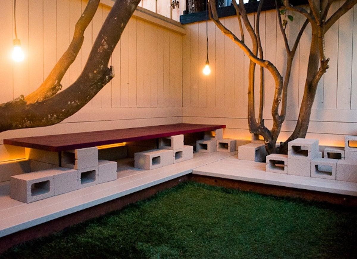 Cinder Block Furniture - 8 Easy Diy Ideas Bob Vila