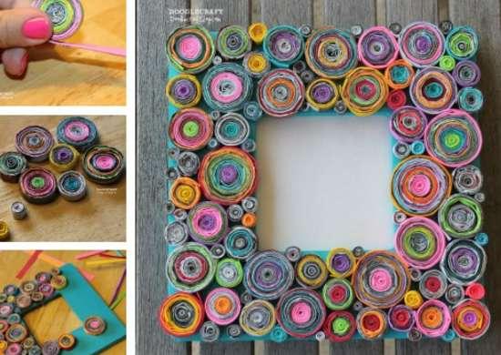 Diy Photo Frame Easy Homemade Christmas Gifts 10