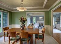 Green Dining Room - Color Trends 2015 - 7 Popular Hues ...