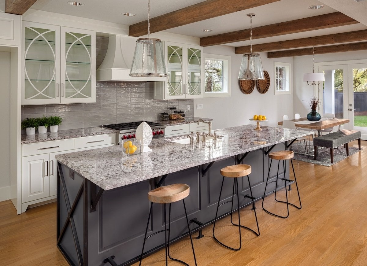 kitchen counter options sinks houzz countertop ideas 10 popular today bob vila quartz surfacing countertops are made of 93 percent crushed natural blended with color pigments and plastic resins in addition to being available