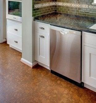 Casedesignremodeling cork kitchen flooring & Kitchen Flooring: 8 Popular Choices \u2013 Custom Contracting Inc.