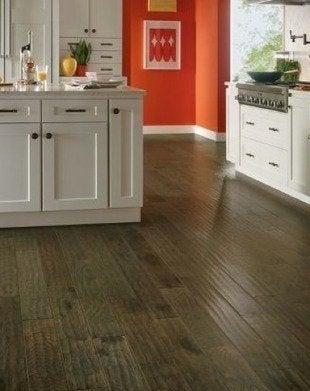 kitchen floor tiny appliances flooring ideas 8 popular choices today bob vila improvements in products and sealers make wood a viable material kitchens that s good news for people with open plans who wish to use the