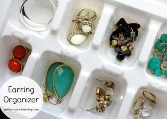 Jewelry Organizer Ideas Home Organization Ideas 12