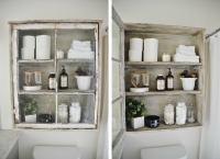 DIY Bathroom Cabinet - Old Window Frames - 7 New Ways to ...
