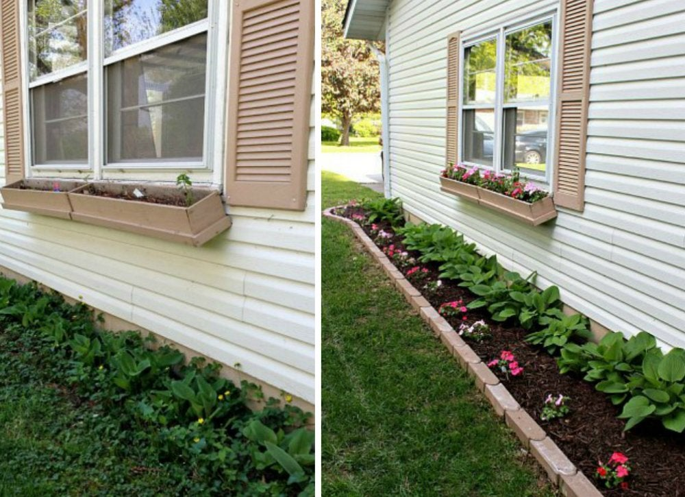 side yard landscaping - curb appeal