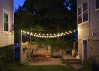 Outdoor String Lights - Small Backyard Ideas - 9 Ideas to ...