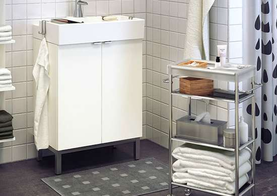 Bathroom Cart  Bathroom Storage Ideas  10 Tricks  Bob Vila
