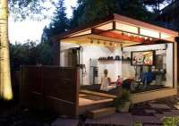 Home Gym - Backyard Sheds - 8 Other Uses for Outbuildings ...