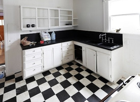 Kitchen_makeover_checkerboard_floors_-_before