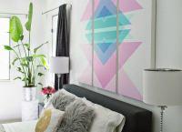 Wall Art Headboard - How to Make a Headboard - 14 DIY ...