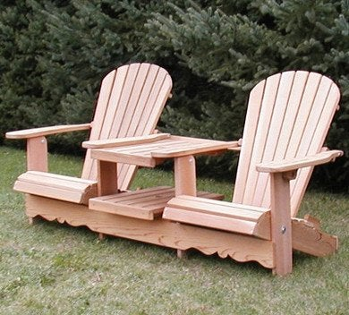 two seater lawn chair pool chairs lowes adirondack chairs: 10 new classics for today - bob vila
