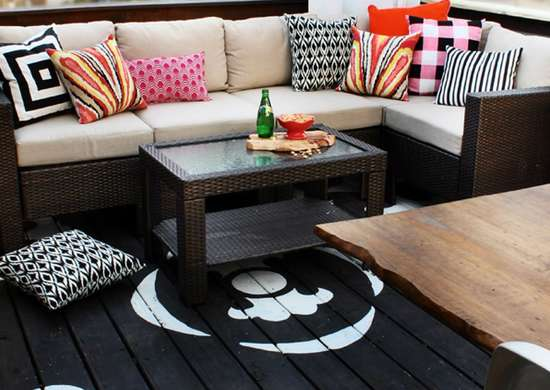 Paint Your Decking