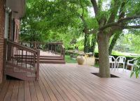 Build Around Trees and Large Shrubs - Deck Ideas: 18 ...