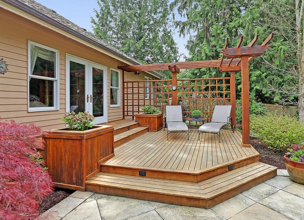 Angle Your Deck  Deck Ideas 18 Designs to Make Yours a