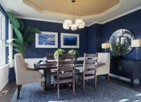 Blue Dining Room - 9 Paint Color Rules Worth Breaking ...