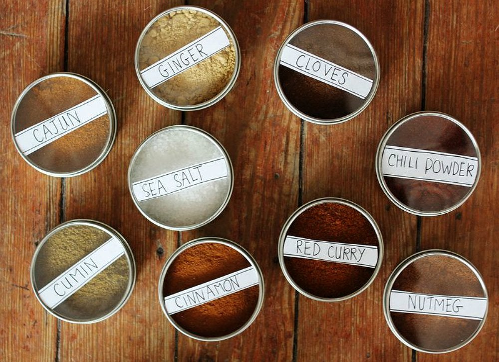 Magnetic Spice Storage  Cheap DIY Projects  20 Budget