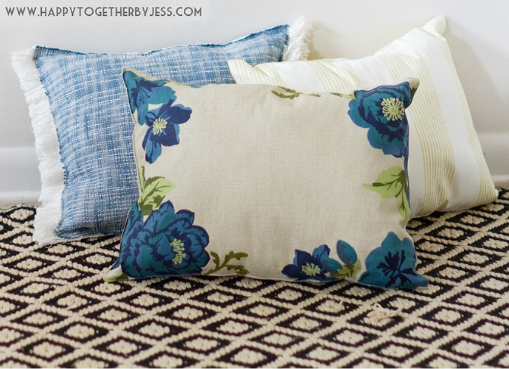 No Sew Placemat Pillow Cheap Diy Projects 20 Budget