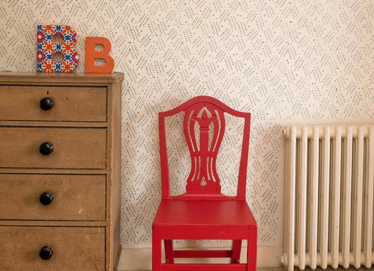 Pick Patterned Paint Rollers for Textured Walls