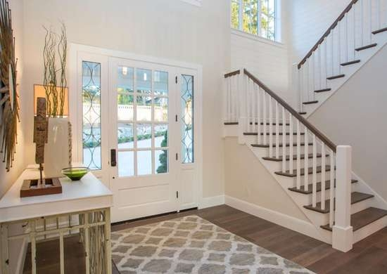 Front Entry Ideas 18 Entryways We Love Bob Vila   Staircase Designers Near Me   Baluster   Stair Treads   Staircase Ideas   Metal   Stair Railing
